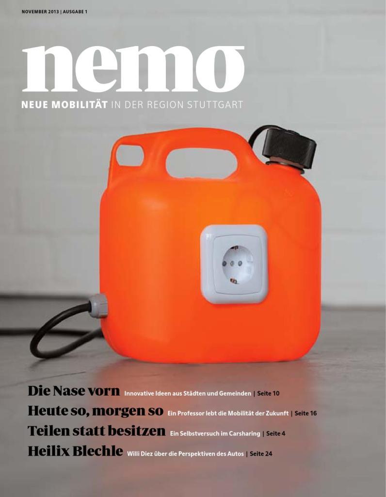 Mobilitätsmagazin nemo/Ausgabe 1