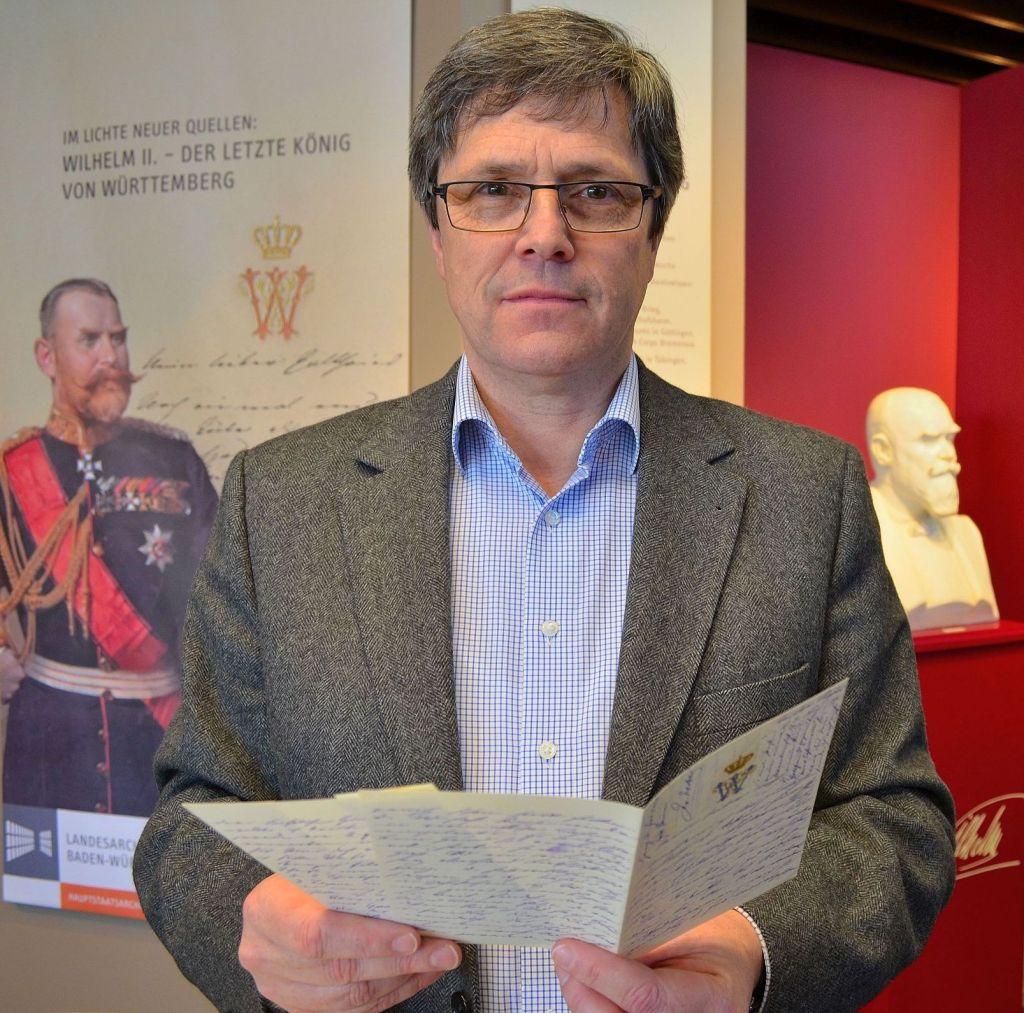 Historiker Albrecht Ernst mit  Jahrhundertfund