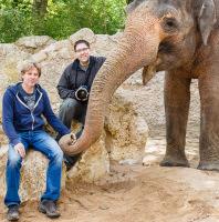 Shooting mit Elefant